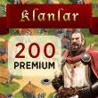 Klan Savaşları 200 Premium Puan