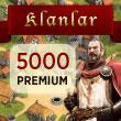 Klan Savaşları 5000 Premium Puan