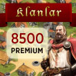 Klan Savaşları 8500 Premium Puan