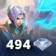 Mobile Legends 494 Elmas