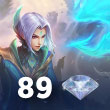 Mobile Legends 89 Elmas
