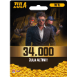 34.000 Zula Altın ZA