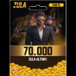 70.000 Zula Altın