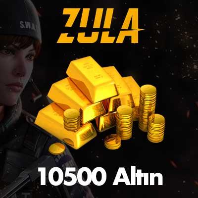 10.500 Zula Altın