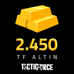 2.450 TF Altın