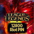 League of Legends 12800 RP