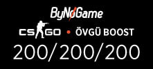 600 CS-GO Övgü Boost Hizmeti