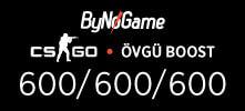 1800 CS-GO Övgü Boost Hizmeti