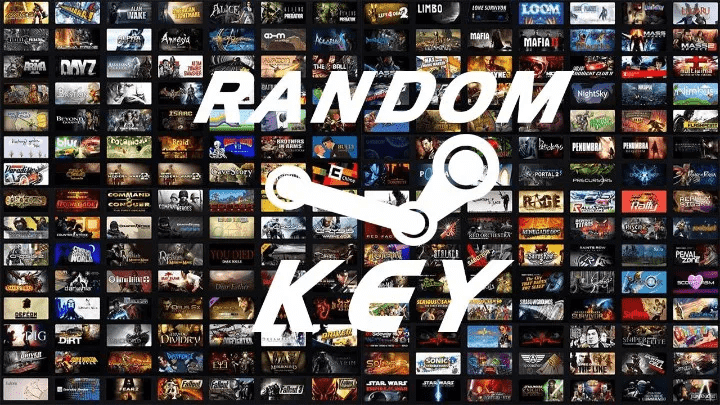 ORJİNAL Steam Random Key