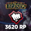League of Legends 3620 RP
