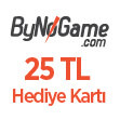 ByNoGame Gift Card (25 TL)