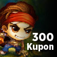 Bombom 300 Kupon