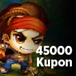 Bombom 45.000 Kupon