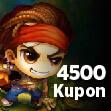 Bombom 4.500 Kupon