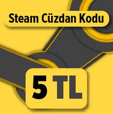 5 TL Steam Cüzdan Kodu