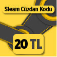 20 TL Steam Cüzdan Kodu