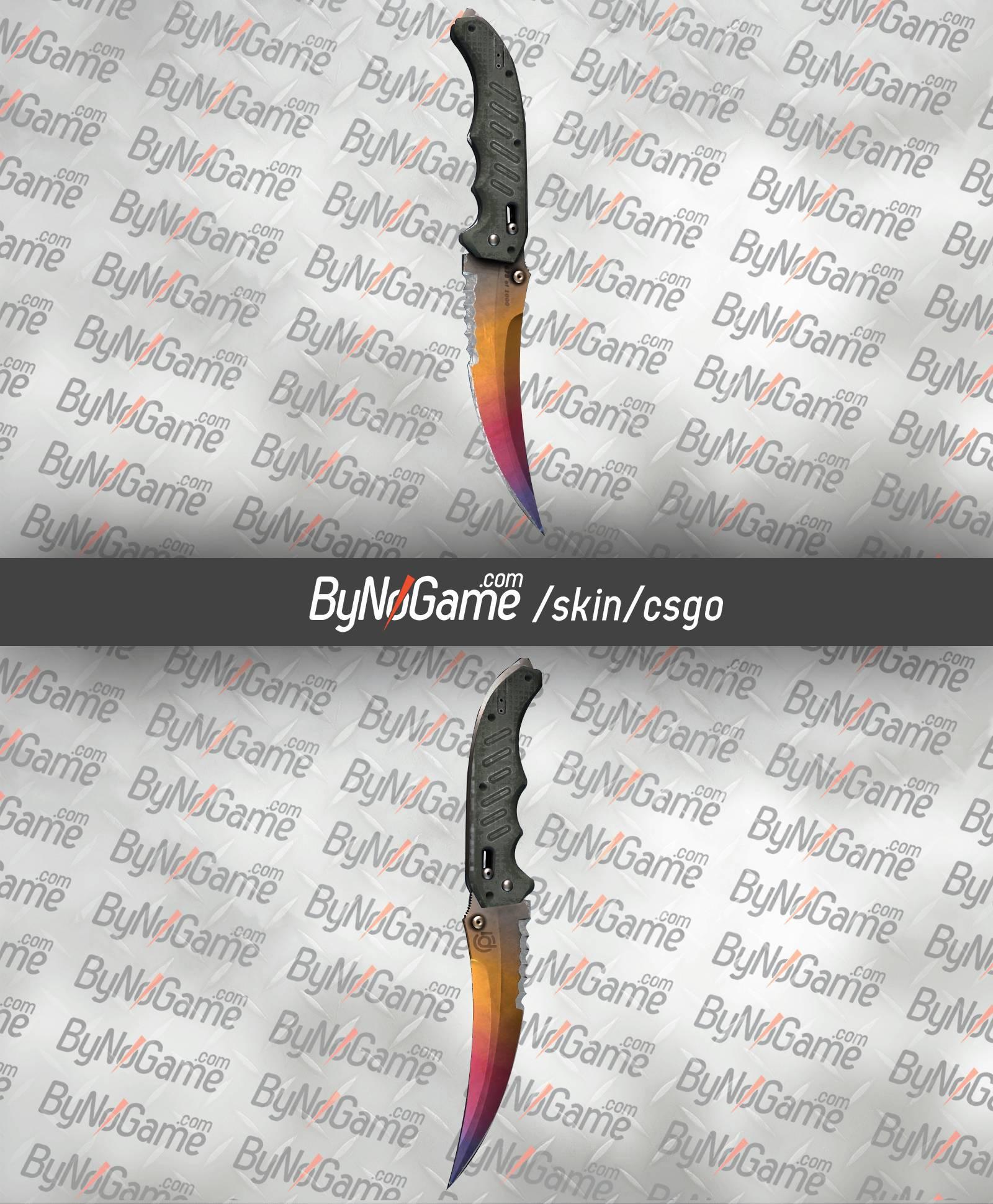 Flip Knife   Fade (Factory New) - Knives - CSGO Skin - ByNoGame