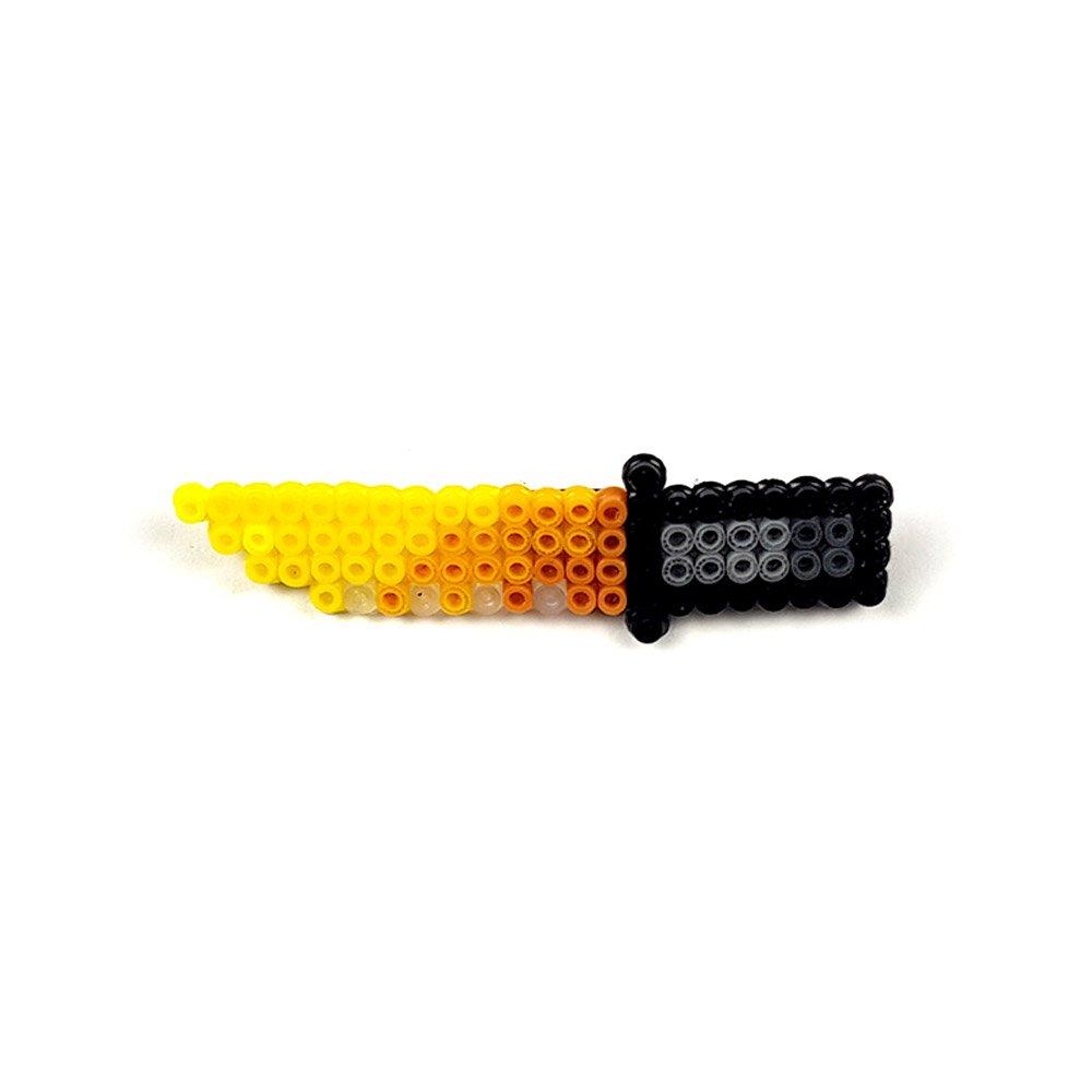 Pixel Art Bayonet Lore Rozet