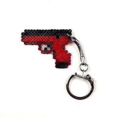 Pixel Art Glock-18 Candy Apple Anahtarlık