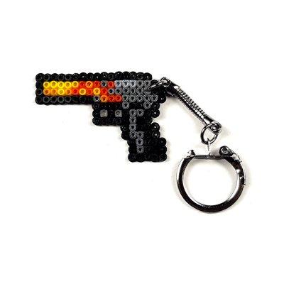 Pixel Art Desert Eagle Blaze Anahtarlık