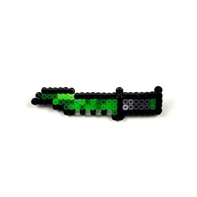 Pixel Art Huntsman Knife Boreal Forest Rozet
