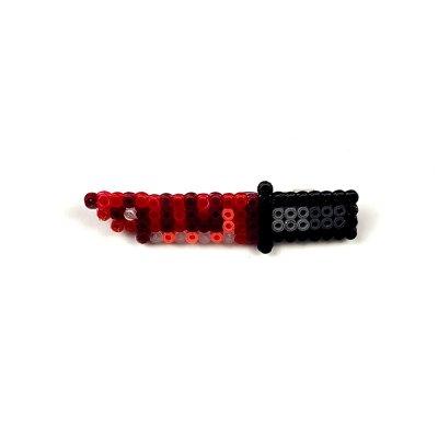 Pixel Art Bayonet Slaughter Rozet