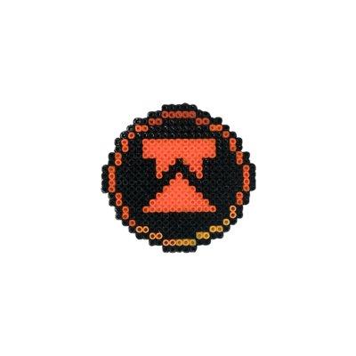 Pixel Art Wtcnn Logo Rozet