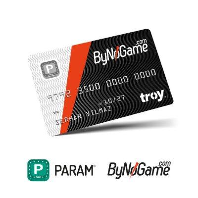 1 Adet Anonim Param ByNoGame Kart