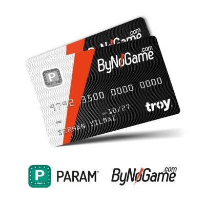 2 Adet Anonim Param ByNoGame Kart