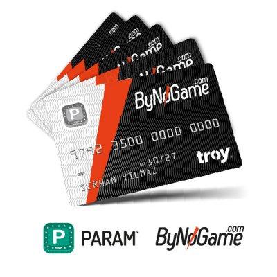 5 Adet Anonim Param ByNoGame Kart