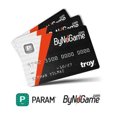 3 Adet Anonim Param ByNoGame Kart