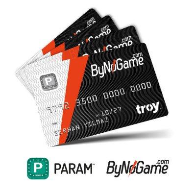 4 Adet Anonim Param ByNoGame Kart