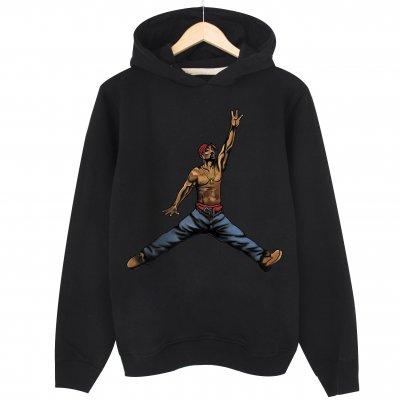 Air Tupac Kapşonlu Sweatshirt Hoodie