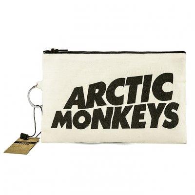 Arctic Monkeys Bez Cüzdan Clutch El Çantası - B092-227b