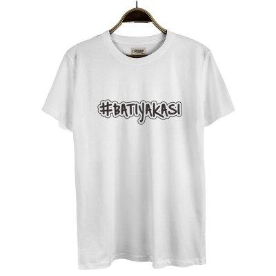 Batı Yakası Hashtag (Beyaz)