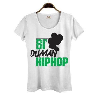 Bi Duman Hiphop Kadın T-Shirt
