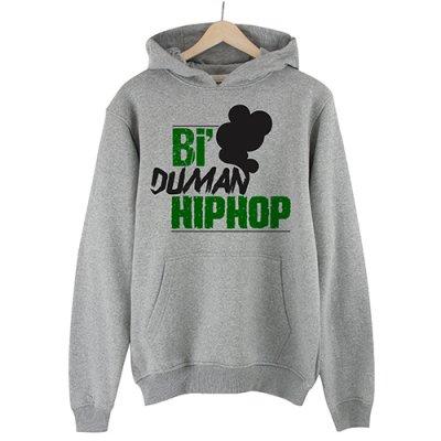 Bi Duman Hiphop Kapşonlu Sweatshirt Hoodie