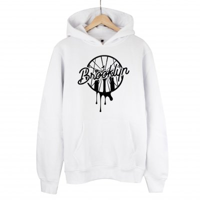 Brooklyn Ball Kapşonlu Sweatshirt Hoodie