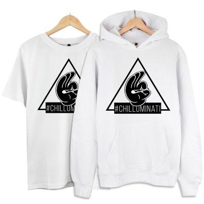 Chilluminati Kapşonlu Alana T-Shirt 19 TL (Paket)