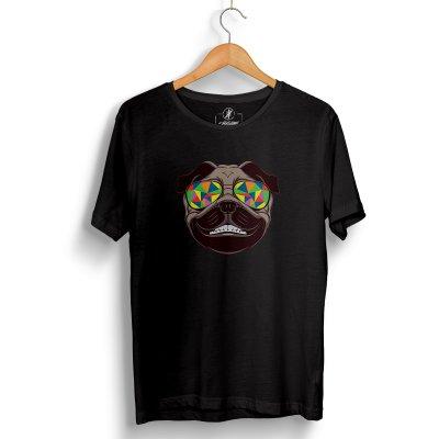 Colorful Black T-Shirt