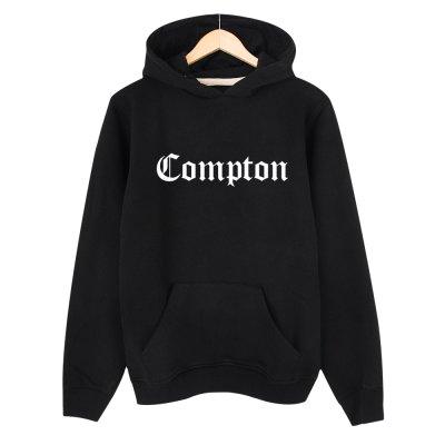 Compton Kapşonlu Sweatshirt Hoodie