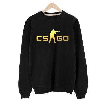 CS:GO Logo Altın Sweatshirt