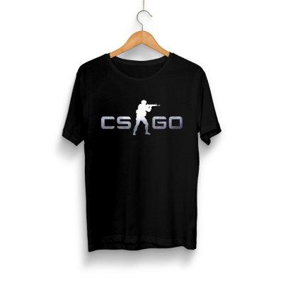 CS:GO Logo Gümüş T-Shirt