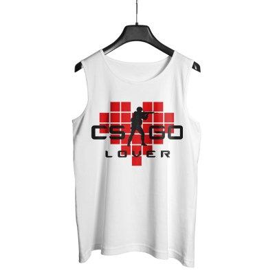 CS:GO Lover Kırmızı Atlet