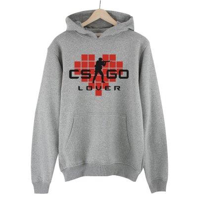 CS:GO Lover Kırmızı Kapüşonlu