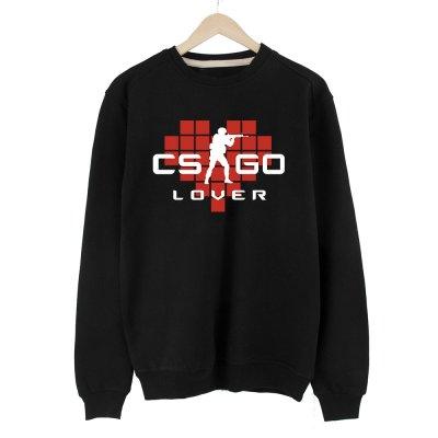 CS:GO Lover Kırmızı Sweatshirt