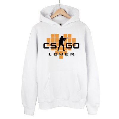 CS:GO Lover Turuncu Kapüşonlu