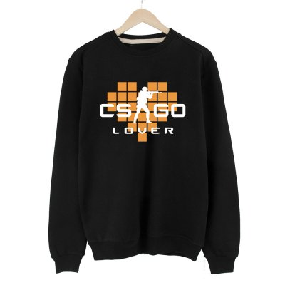 CS:GO Lover Turuncu Sweatshirt