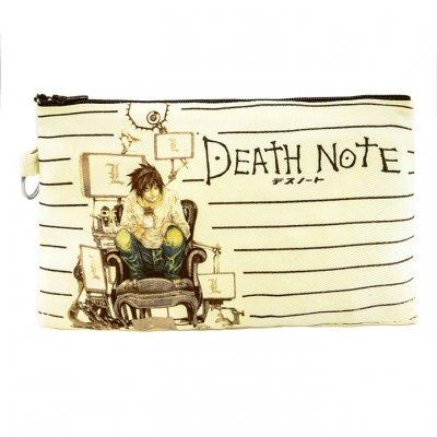 Death Note L Bez Cüzdan Clutch El Çantası