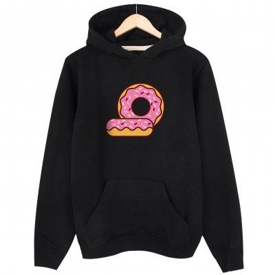 Donut Kapşonlu Hoodie Sweatshirt